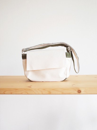 TEMBEA Toy Bag - Natural / Olive