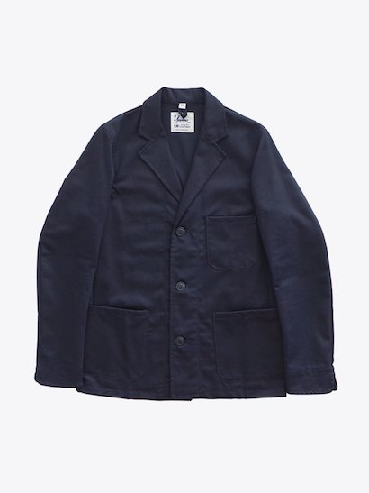 Yarmo  Drivers Jacket - Navy