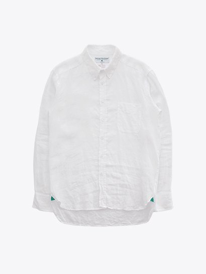 James Mortimer Irish Linen B.D Shirts - White