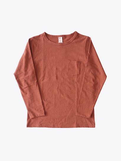 HUE L/S Crew Neck Tee - Red