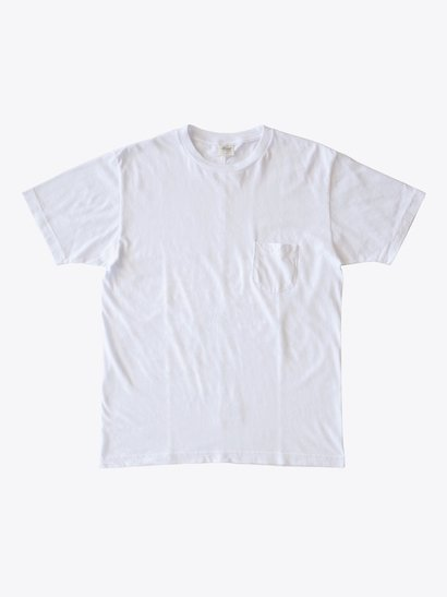 SBTRACT  Center Seam C/N Tee Shirts - White