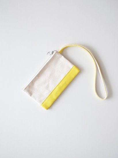 TEMBEA Envelope Small - Natural / Yellow