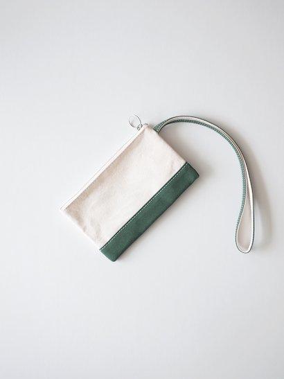 TEMBEA Envelope Small - Natural / Green