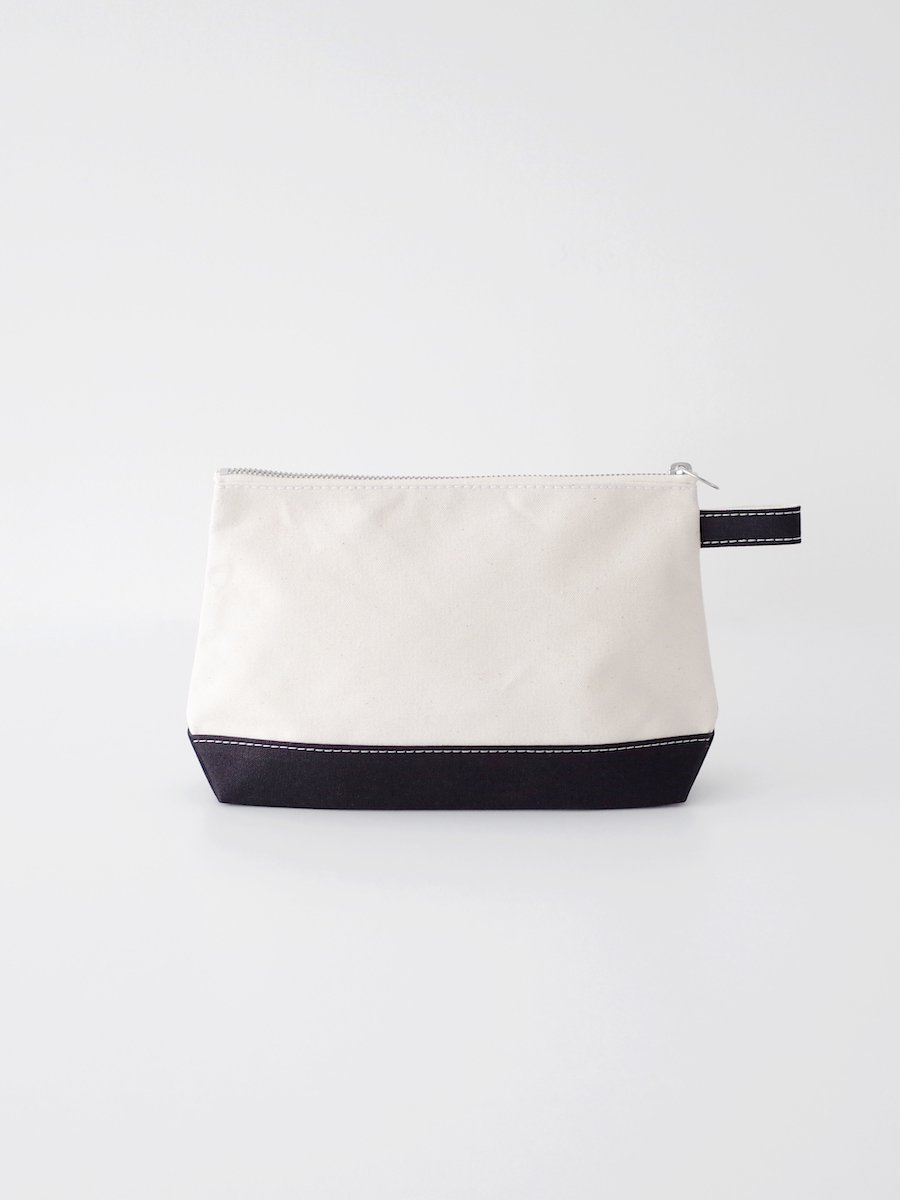 TEMBEA Toiletry Bag Large - Natural / Black