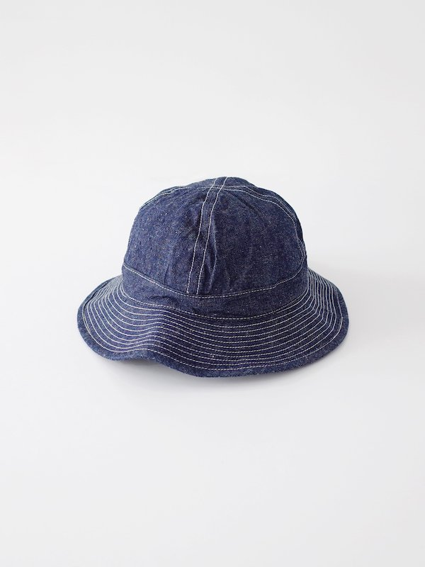 orSlow US Navy Hat - Denim