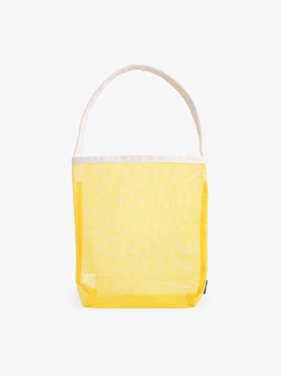 TEMBEA  Single Tote Mesh - Yellow