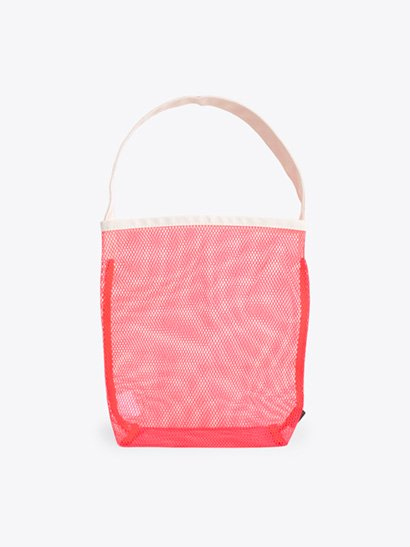 TEMBEA  Single Tote Mesh - Neon Orange