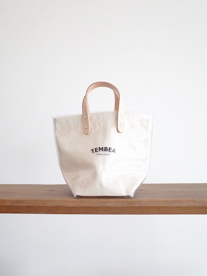 TEMBEA Delivery Tote Small PVC - Clear