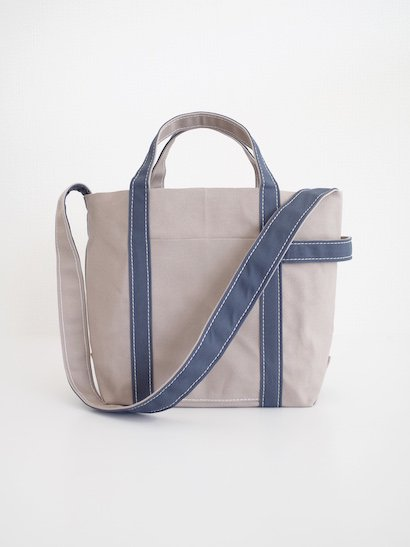 TEMBEA  Club Tote Small - Gray / Smoky Blue