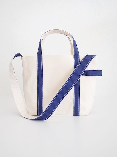 TEMBEA  Club Tote Small - Natural / Navy