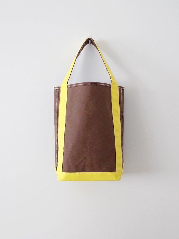 TEMBEA Baguette Tote - Brown / Yellow