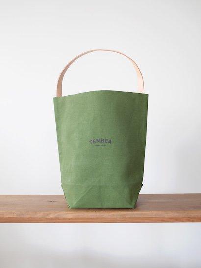 TEMBEA  Baguette Tote Logo - New Olive