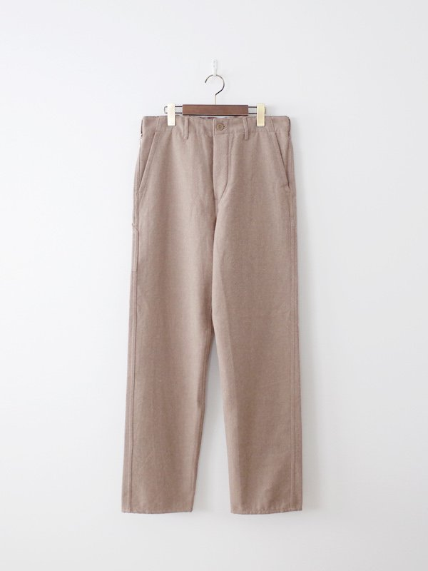 orSlow French Work Pants Cotton Wool - Khaki