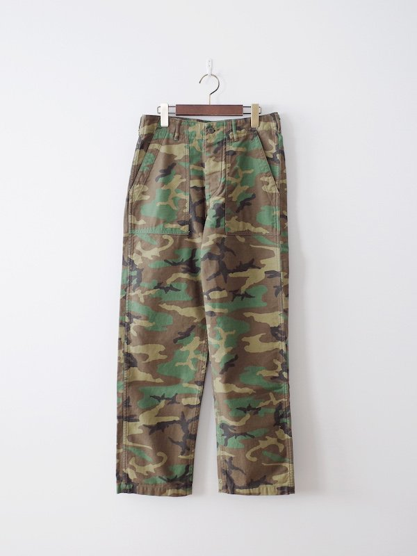 orSlow US Army Fatigue Pants - Woodland Camo