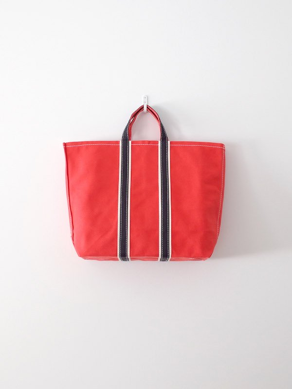 TEMBEA 3 Tone Tote - New Red × Natural / Black