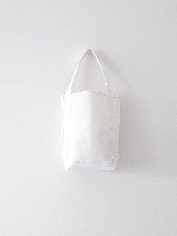 TEMBEA Baguette Tote Small - White / White
