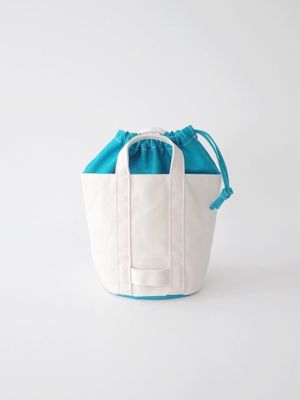 TEMBEA Delivery Tote Small Basic - Natural / Dk Blue