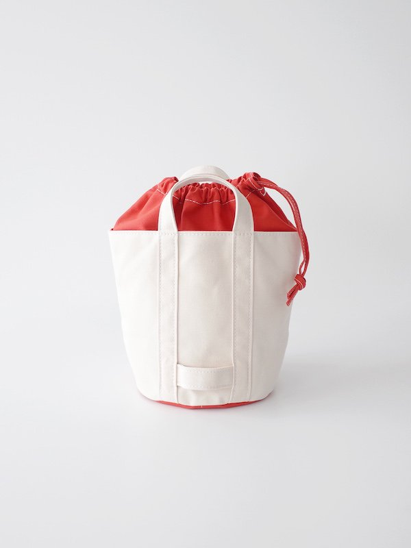 TEMBEA Delivery Tote Small Basic - Natural / Orange