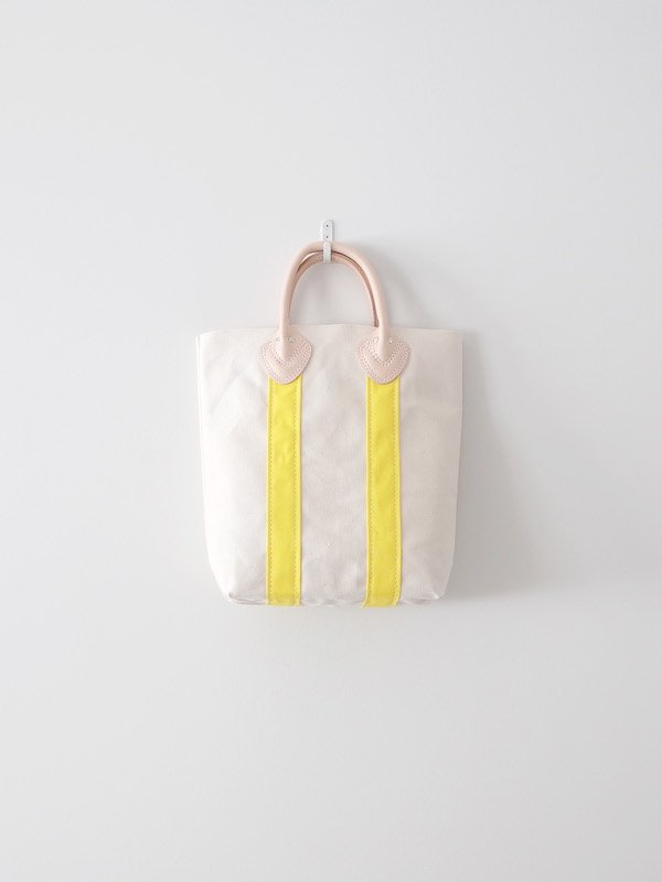 TEMBEA Log Tote Small - Natural / Yellow