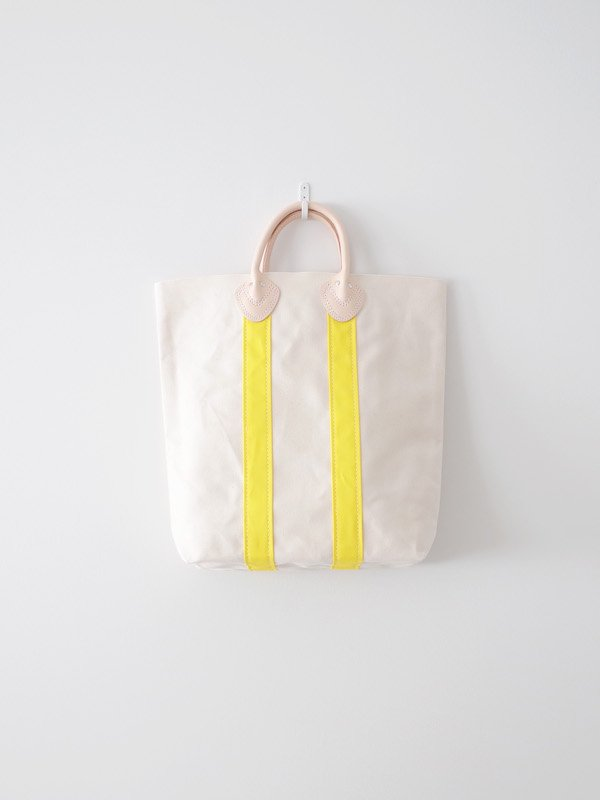 TEMBEA Log Tote Medium - Natural / Yellow
