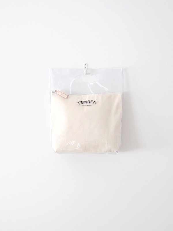 TEMBEA Vinyl Bag Small PVC - Clear