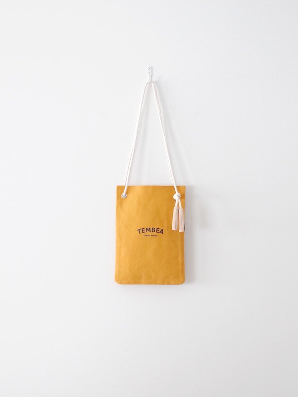 TEMBEA Map Case Logo - Mustard