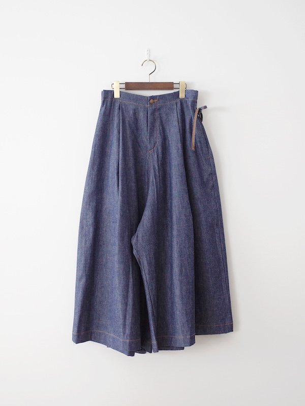 orSlow Wrap Wide Pants - Rigid