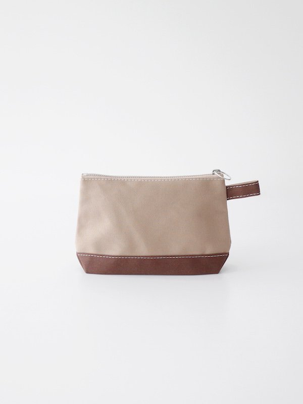 TEMBEA Toiletry Bag - Beige / Choco