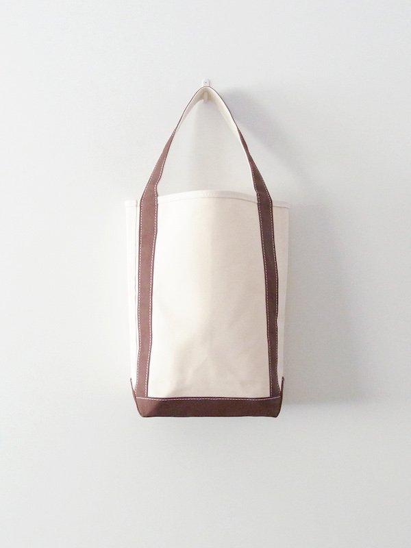 TEMBEA Baguette Tote - Natural / Dk Brown