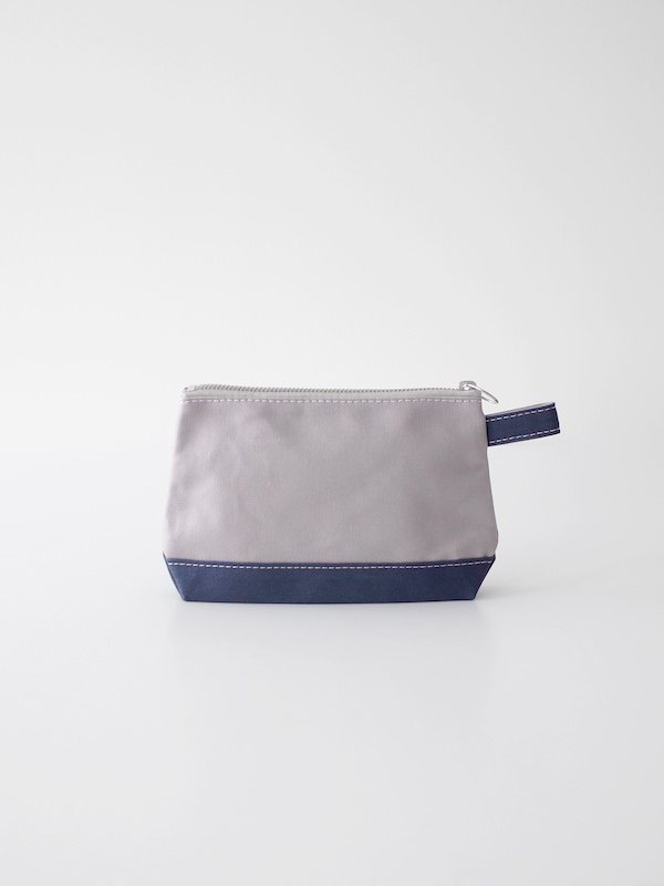 TEMBEA Toiletry Bag - Gray / Smoky Blue