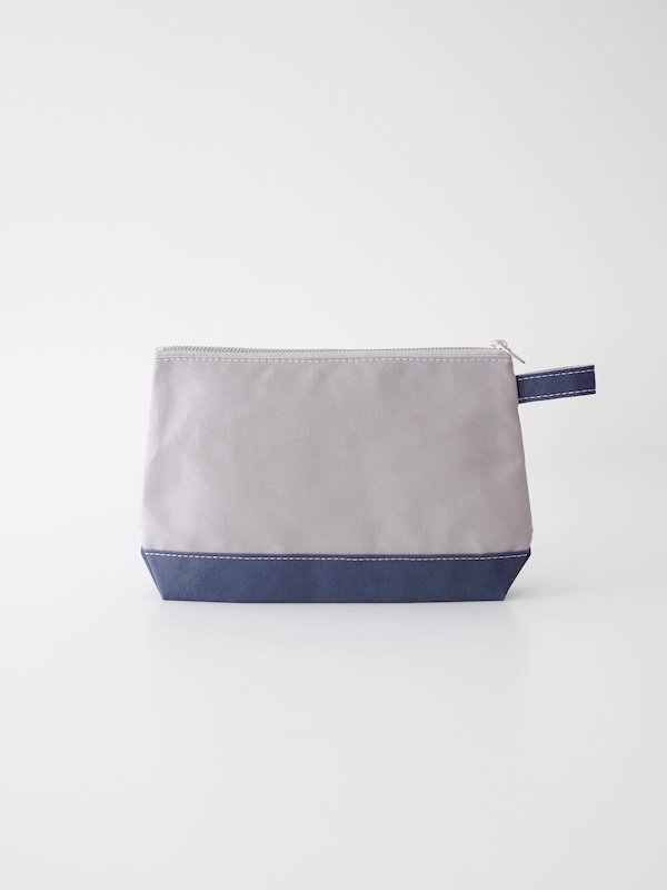 TEMBEA Toiletry Bag Large - Gray / Smoky Blue
