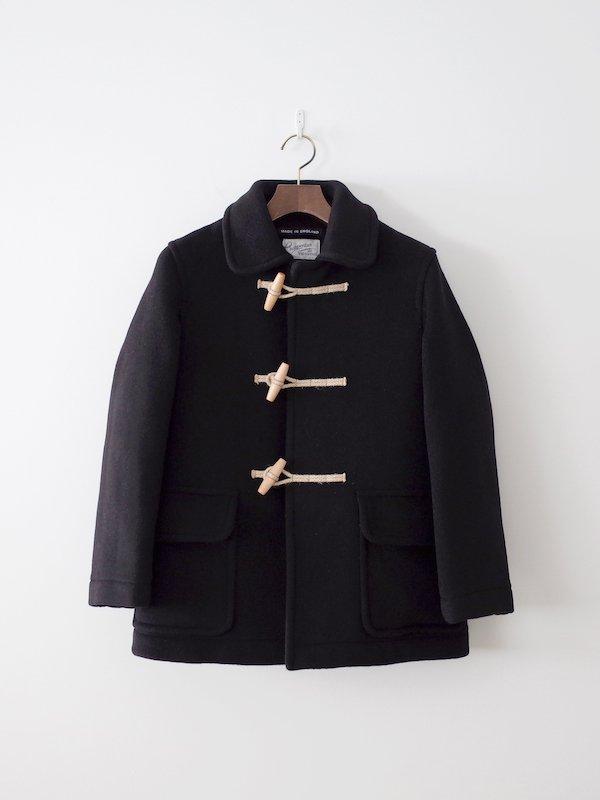 Charpentier de Vaisseau × London Tradition Tate ショート丈ダッフルコート Black