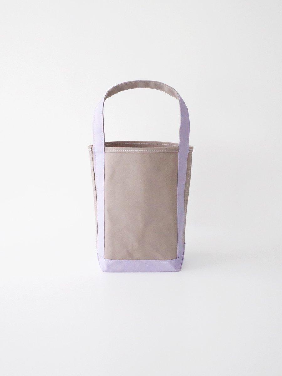 TEMBEA Baguette Tote Small - Gray / Lavender
