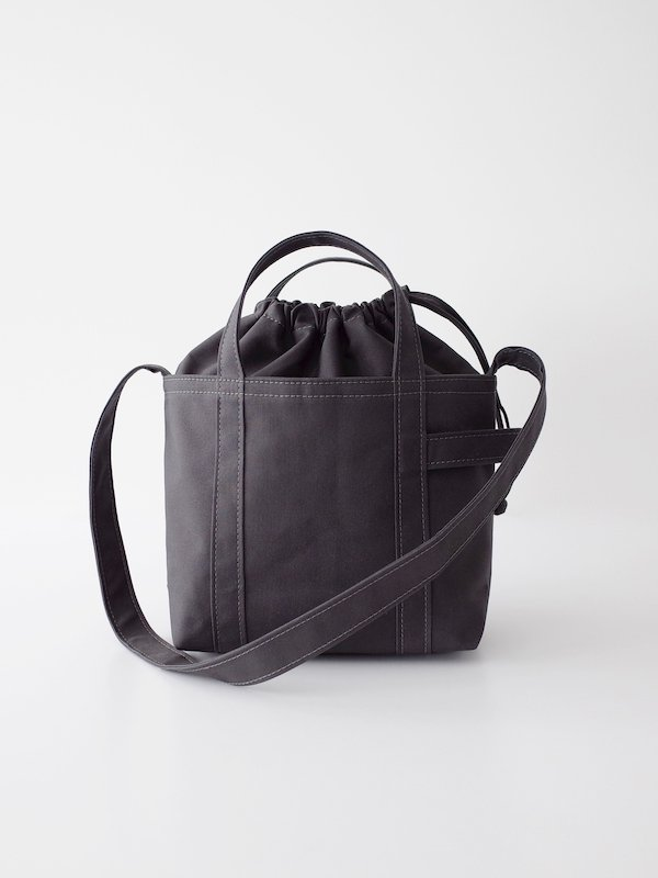 TEMBEA Club Tote Small - Deep Gray
