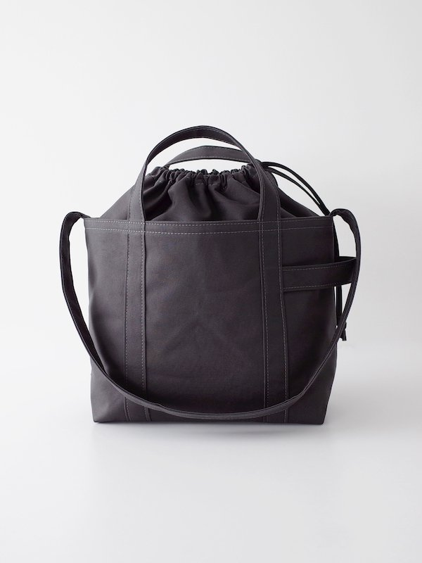TEMBEA Club Tote - Deep Gray