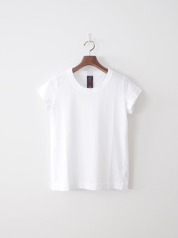 homspun 天竺フレンチスリーブTシャツ サラシ