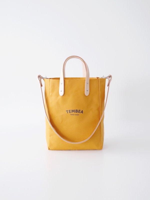 TEMBEA Club Tote XS Logo - Mustard