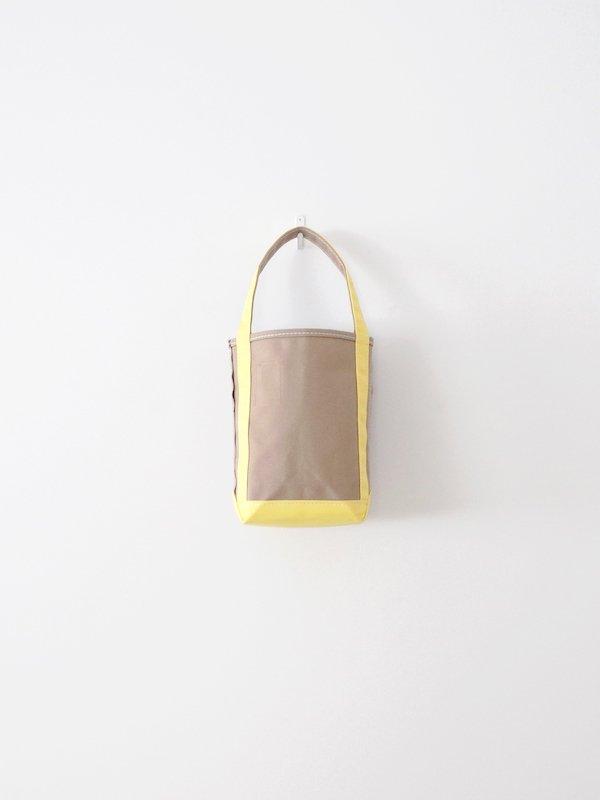 TEMBEA Baguette Tote Mini - Beige / Lt Yellow