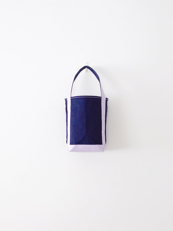 TEMBEA Baguette Tote Mini - Navy / Lavender