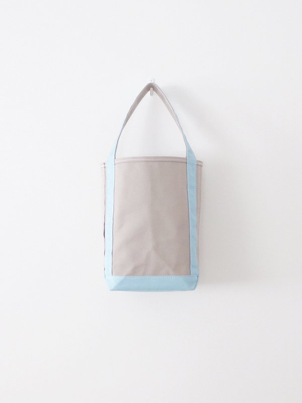 TEMBEA Baguette Tote Small - Gray / French Blue
