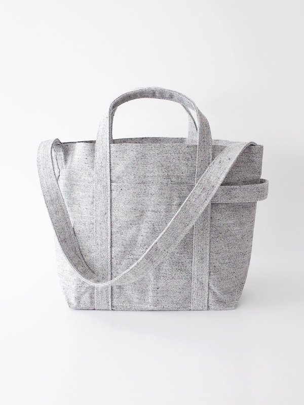 TEMBEA Club Tote Medium - Gray Mix