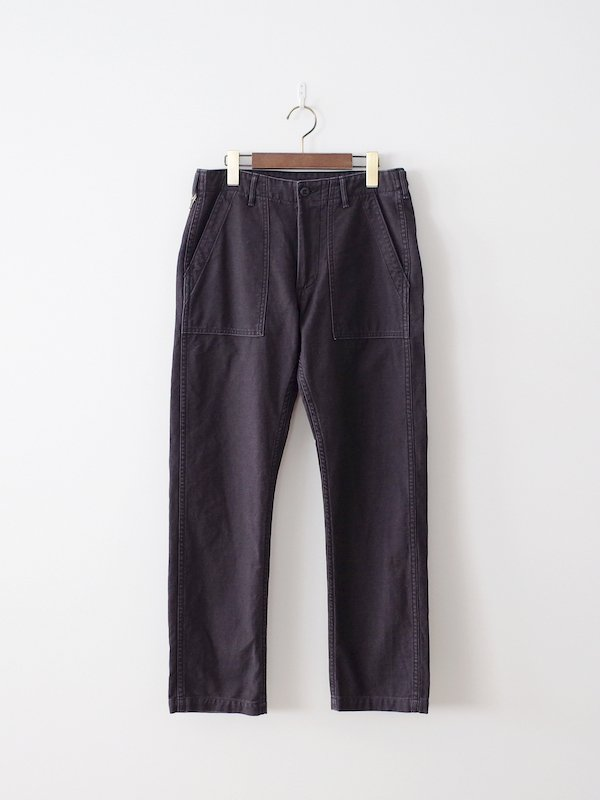 orSlow Slim Fit Fatigue Pants - Black Stone