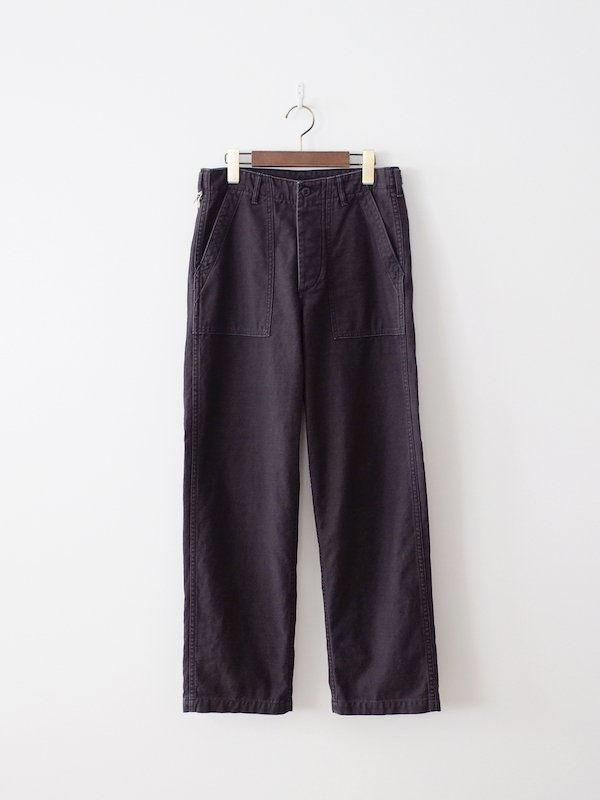 orSlow US Army Fatigue Pants - Black Stone