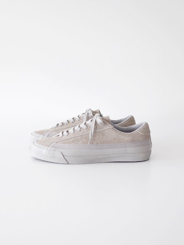 ASAHI BELTED LOW SUEDE - GRAY