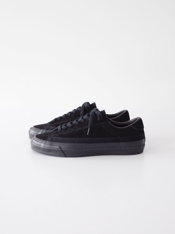 ASAHI BELTED LOW SUEDE - BLACK