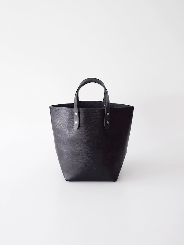 TEMBEA Delivery Tote Small Shrink Leather - Black