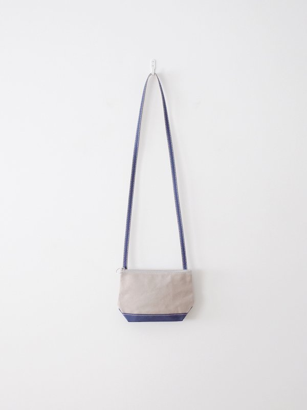 TEMBEA Pochette - Gray / Smoky Blue