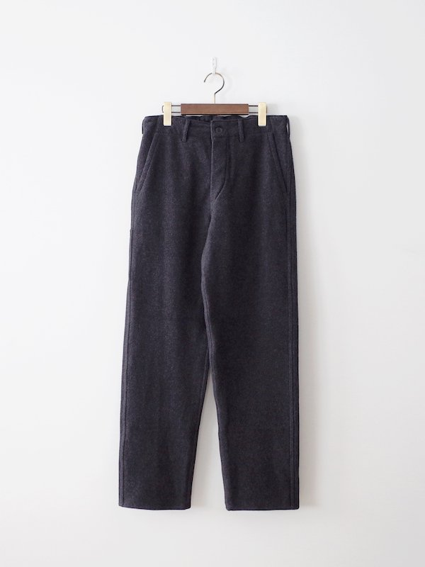 orSlow French Work Pants Cotton Melton - Gray