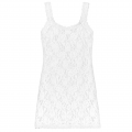 Sig Lace Classic Unlined Cami・White:シグニチャー・レース・クラシック・キャミ ホワイト