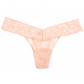 BASIC* Signature Lace Low Rise Thong:Vanilla バニラ